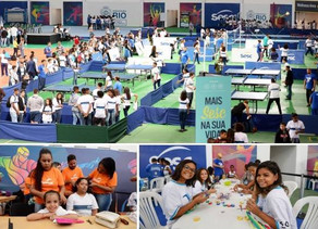 Aberto o 27º Jogos Estudantis do Rio