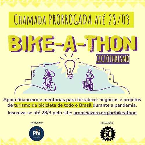 Bike-a-Thon ciclo turismo cards redes so