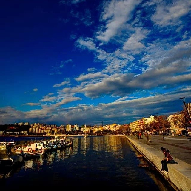 Instagram - #Çanakkale #Çanakkaleboğazı #Kordon  #Çanakkalekordon #Marina #Sea