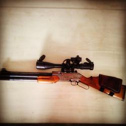Instagram - #Samyang #Sumatra #Sumatra2500Carbine #Airgun #Rifle #Reddot #Rifles