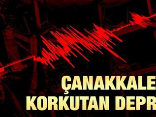 Marmara, Ege ve Akdeniz'de Şiddetli Deprem Yaşandı! Herkese Çok Geçmiş Olsun.