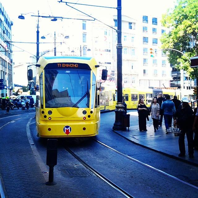 Instagram - #Istanbul #Eminönü #Sultanahmet #Tramvay