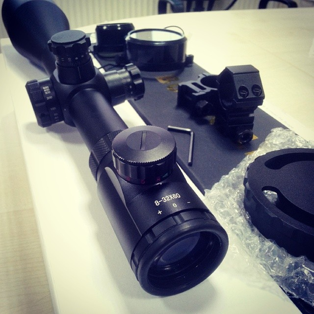 Instagram - #Riflescope #Scope #Optik #Dürbün #Bushnell #8-32x60 #Çanakkale #Çan