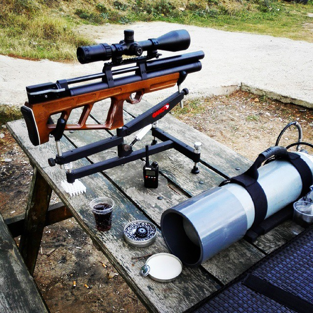 Instagram - #Pcp #Fieldtarget #Rifle #Airgun #Scope #Hawke #Kalibrgun #Cricket #