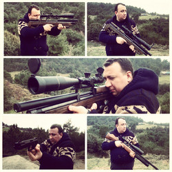 Instagram - #Airgun #Fieldtarget #BenchRest #Rifle #RifleScope #Hatsan #At44 #Co