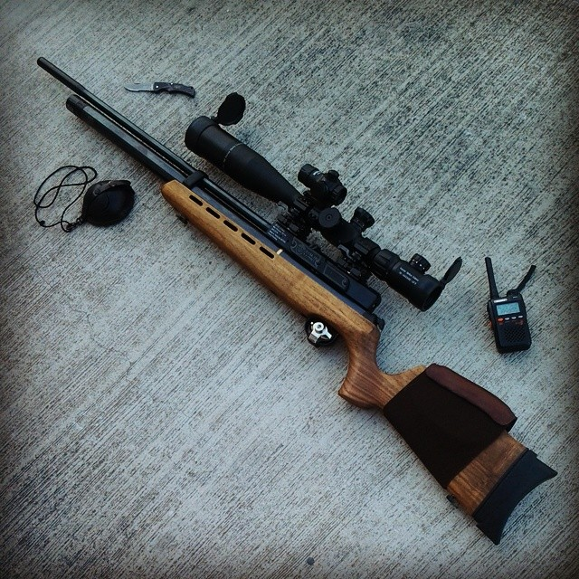 Instagram - #Airgun #Pcp #Hatsan #At44 #Hatsanat44 #Rifle #Scope #Reddot #Vector