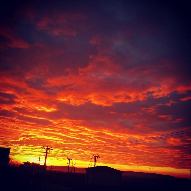 Instagram - Güneş ardından bakarken...jpg