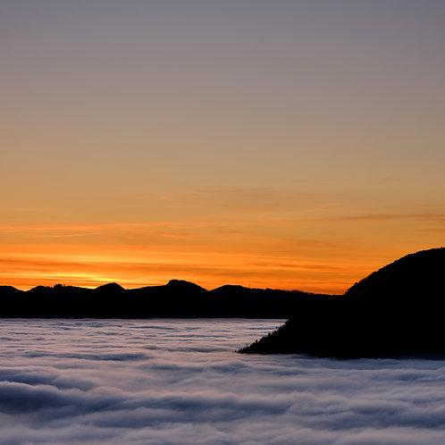 Sunset Cloud Sea