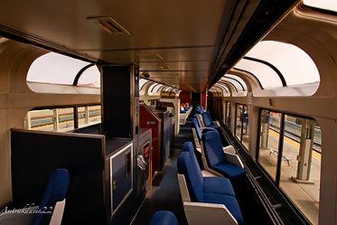 viagem de trem EUA npk vagao