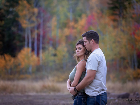 Utah Engagement Photographer | Utah Fall Color Engagement Session