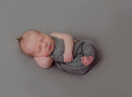 Utah Newborn Photographer | Utah Studio Newborn boy session.
