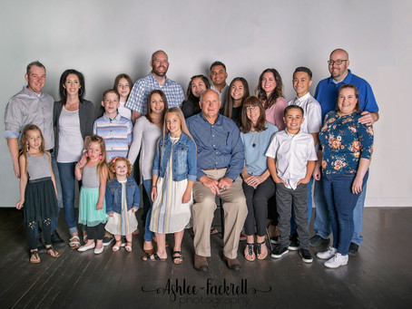 Utah Family Photography | Spanish Fork Studio Portraits