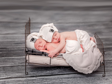 Utah Newborn Photographer (The H Twins)