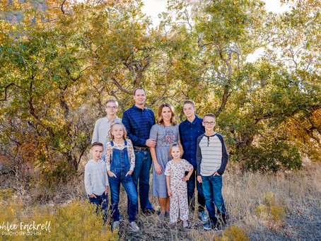 Utah Family Photographer - Fall colors {J Family}