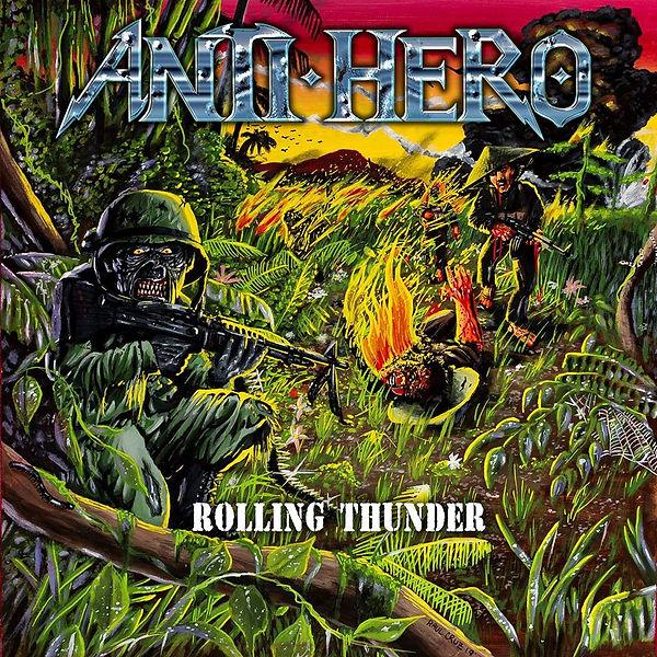Anti - Hero Rolling Thunder Ep Art 2019