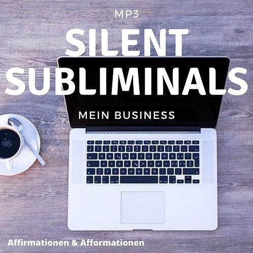Silent Subliminals - COMBO - Mein Business (Affirmationen & Afformationen)