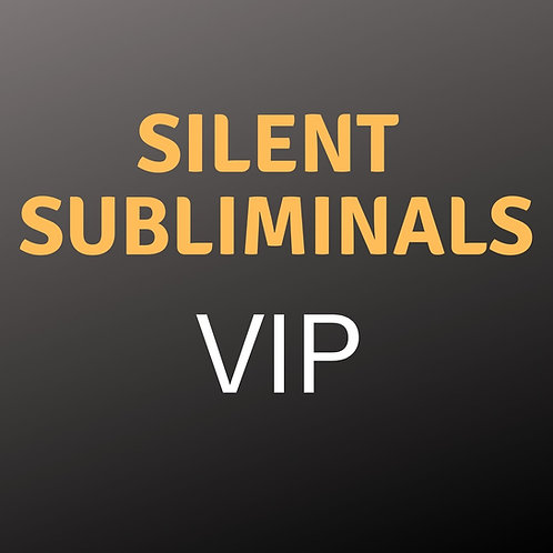 "Silent Subliminals VIP - Paket ""Bronze"""