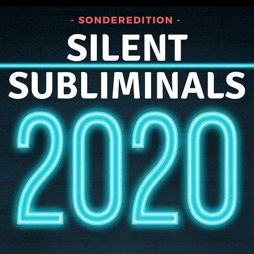 Silent Subliminals: Das ist mein Jahr 2020 (4in1)
