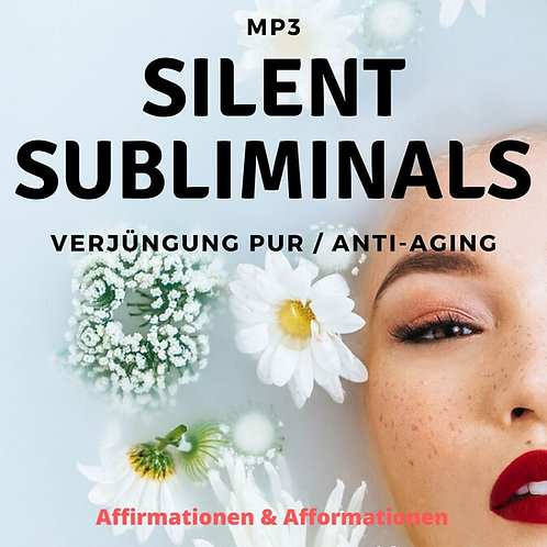 Silent Subliminals - COMBO - Verjüngung PUR (Affi - u. Afformationen)
