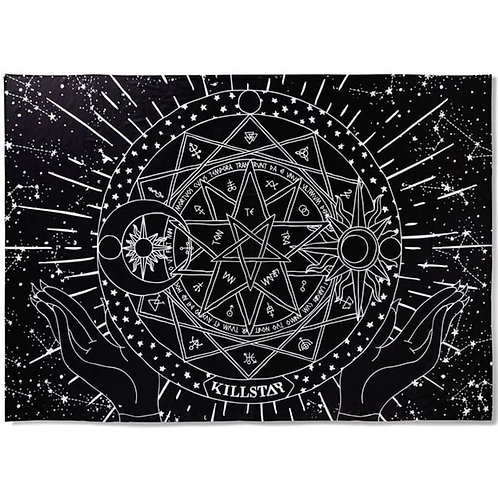 Killstar Posterflagge / Tagesdecke - Astrology Tapestry