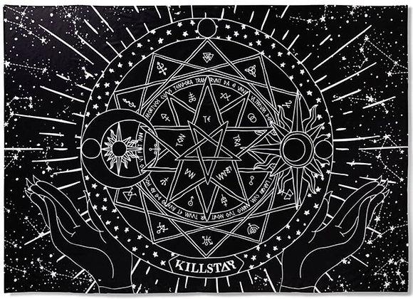 Killstar Posterflagge / Tagesdecke - Astrology Tapestry