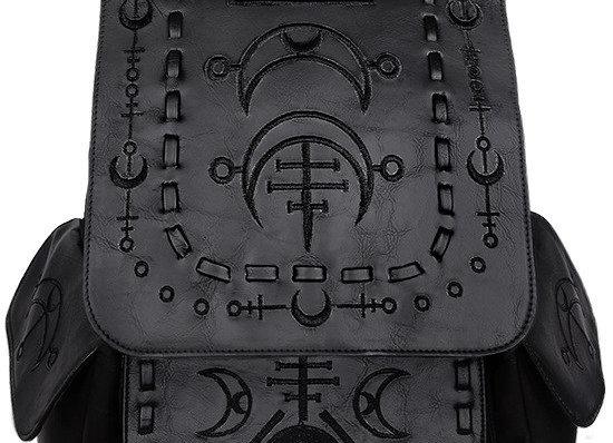 Rucksack mit schwarzem Denim