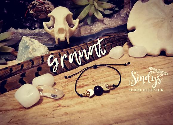 Granat Chakra Armband