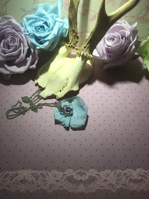 Frosch Amulett mit Edelstahlkette