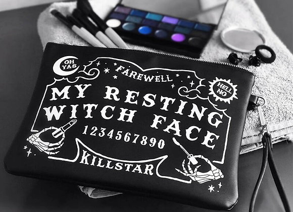 Killstar Kosmetiktasche - Witch Face