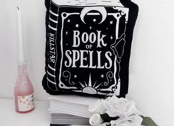 Killstar Samt Kissen - Book Of Spells