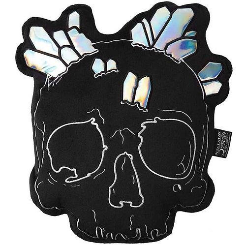 Killstar Samt Kissen -Skull