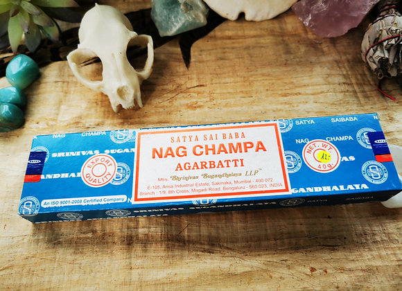 Satya Sai Baba Nag Champa Agarbatti Räucherstäbchen 40g