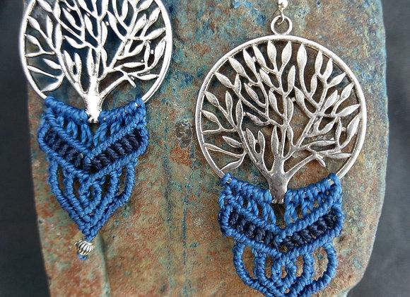 Baum des Lebens in Blau