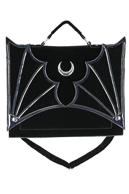 Klassische Goth-Tasche Mond/ Fledermaus Style