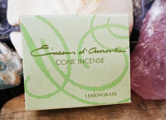 Lemongrass Räucherkegel