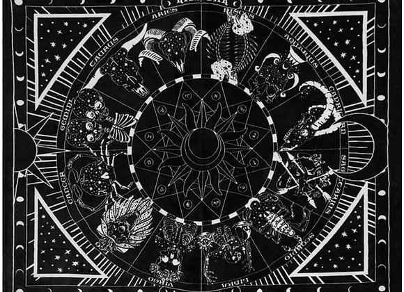 Killstar Fleecedecke - Zodiac Was steht in den Sternen geschrieben?