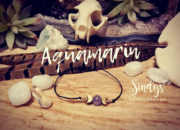 Aquamarin Chalra Armband