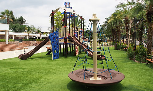 sentosa cove playground, sentosa cove arrival plaza, interesting places in singapore