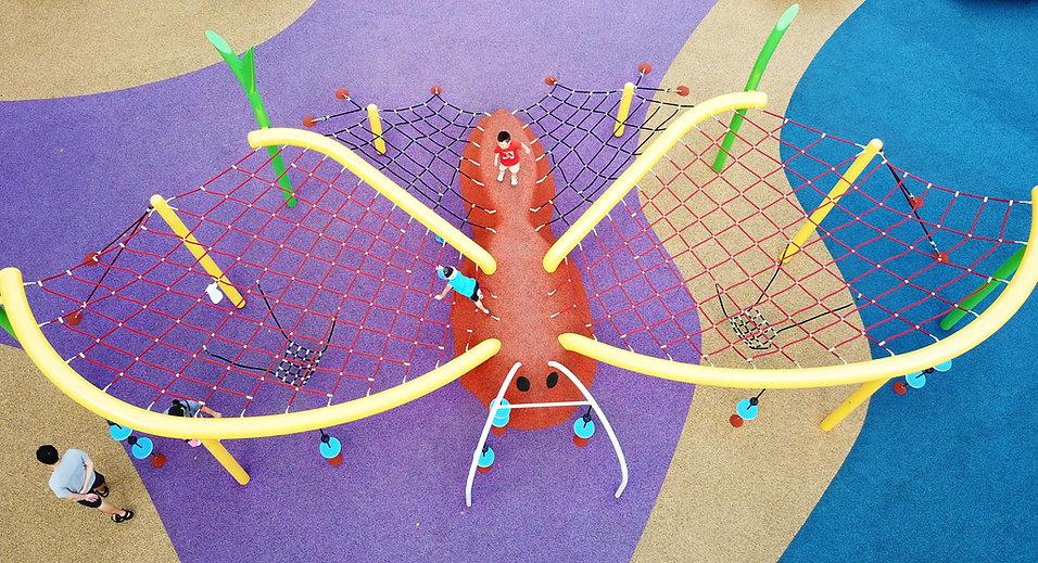 spiel bau playground, singapore playground equipment supplier, semec