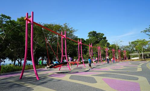 Raintree Cove: Feature Swing