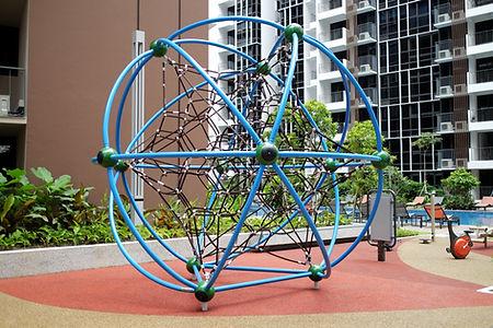 condo playground, tree house condominium, singapore playground