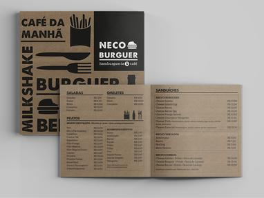 Identidade Visual | Neco Burguer