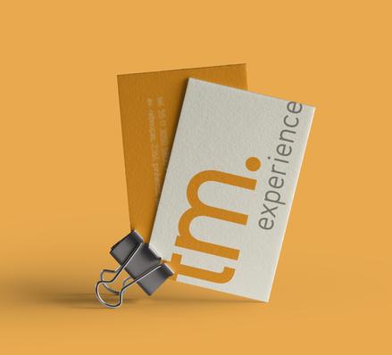 Cartão de Visita | TM Experience