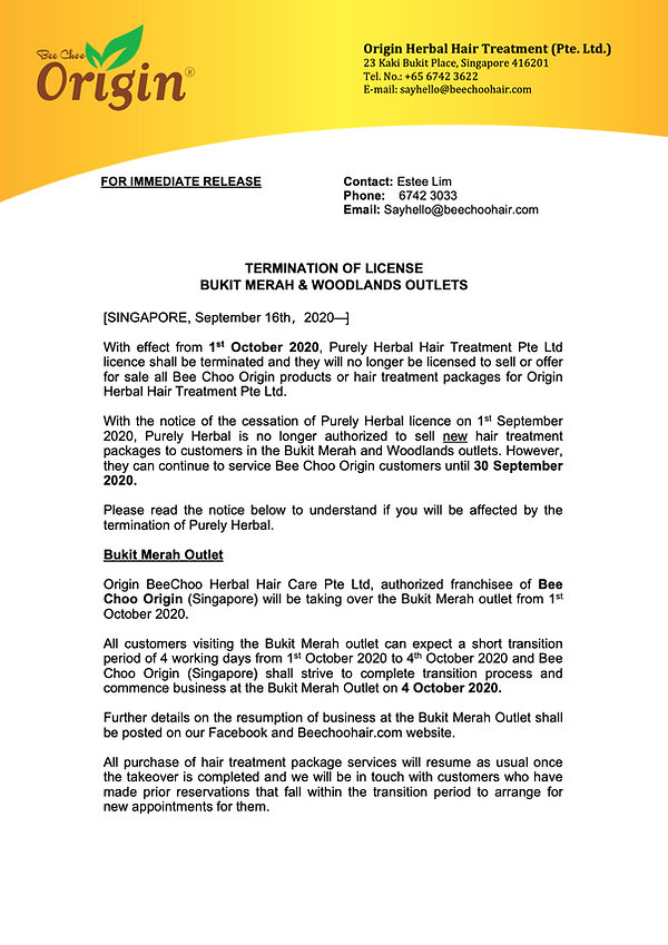 Press_Release_Closure_of_Woodlands_Outet