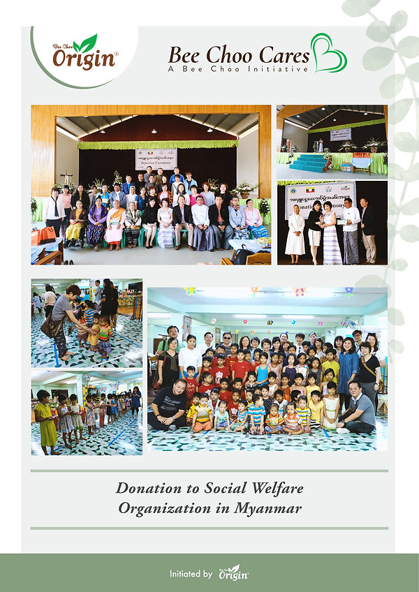 Bee Choo Cares - Myanmar Charity 2019-01