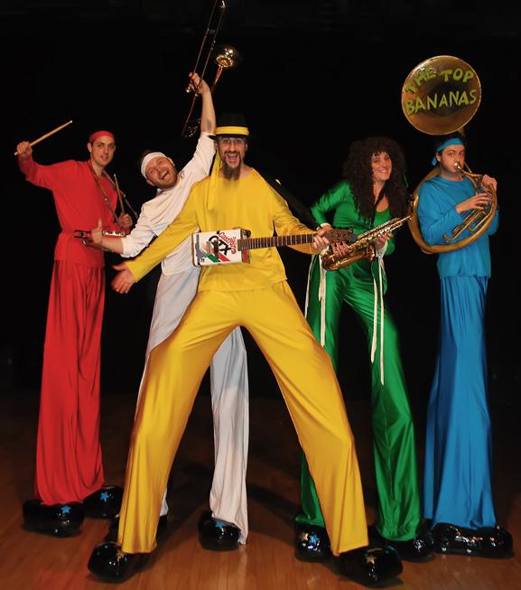 Stilt-Band