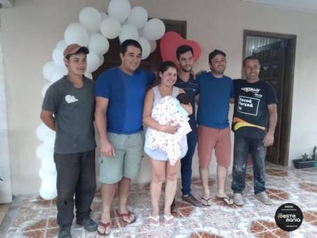 Após carro cair no Rio Uruguai e de serem internados na UTI, família volta para casa no noroeste gaú