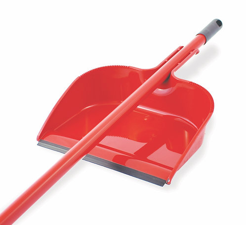 DUSTPAN COMPATIBLE WITH LONG HANDLE