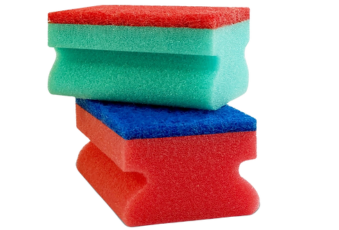 KITCHEN SPONGE WITH NAILGUARD AND ABRASIVE