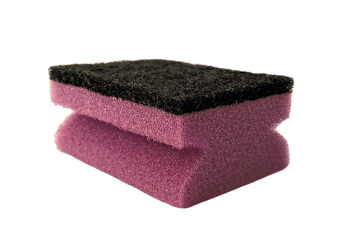 SPECIAL PURPOSE SPONGE WITH STRONG ABRASIVE